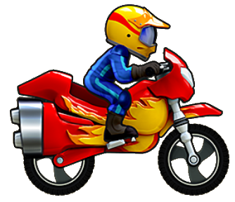 Motorcycle cartoon png. Image super bike race