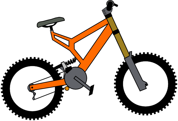 Cartoon bike png. Clip art at clker