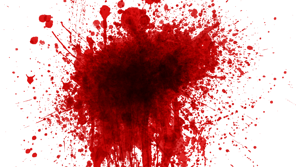 Cartoon blood splatter png. Fifty two isolated stock