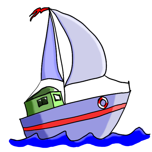 Cartoon boat png. Free pictures download clip