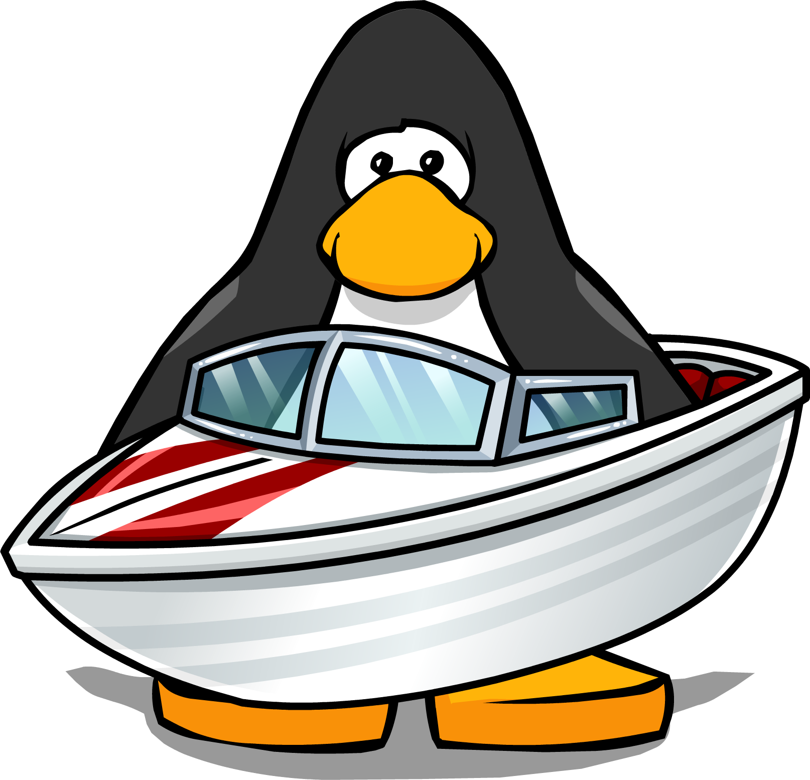 Cartoon boat png. Image speed club penguin