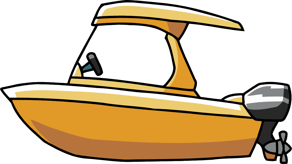 Boat cartoon png. Image power scribblenauts wiki