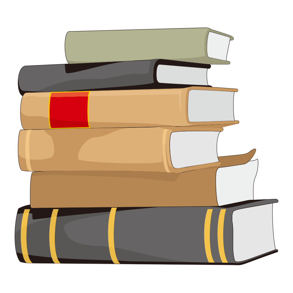 Writing book png. Student library motion cartoon