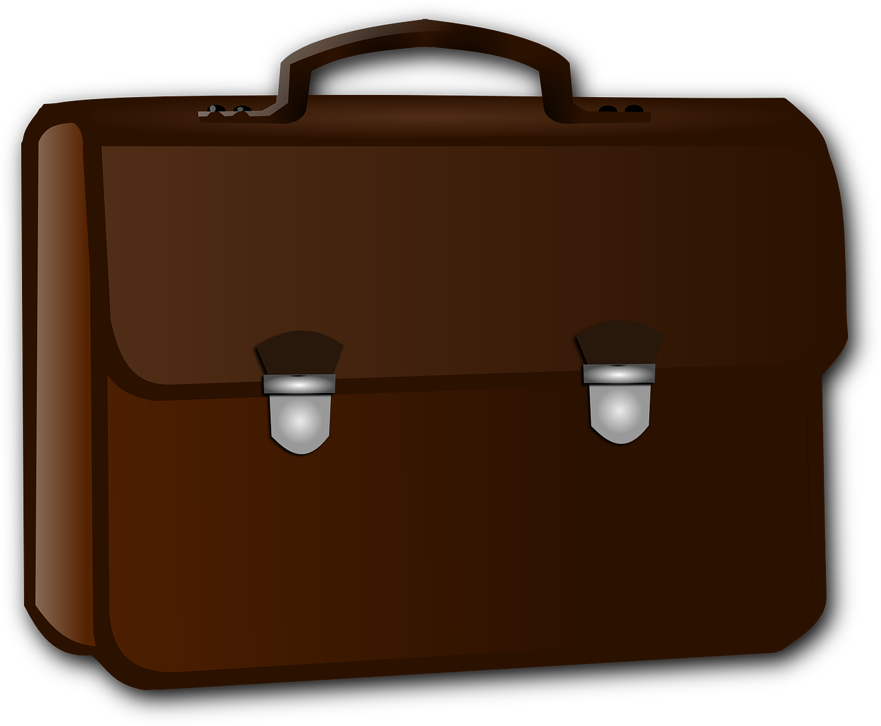 Cartoon briefcase png. Business brown image picpng