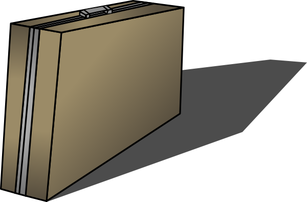 Cartoon briefcase png. Clip art at clker