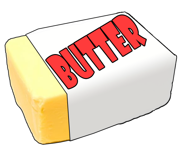 Cartoon butter png. Transparent images all image