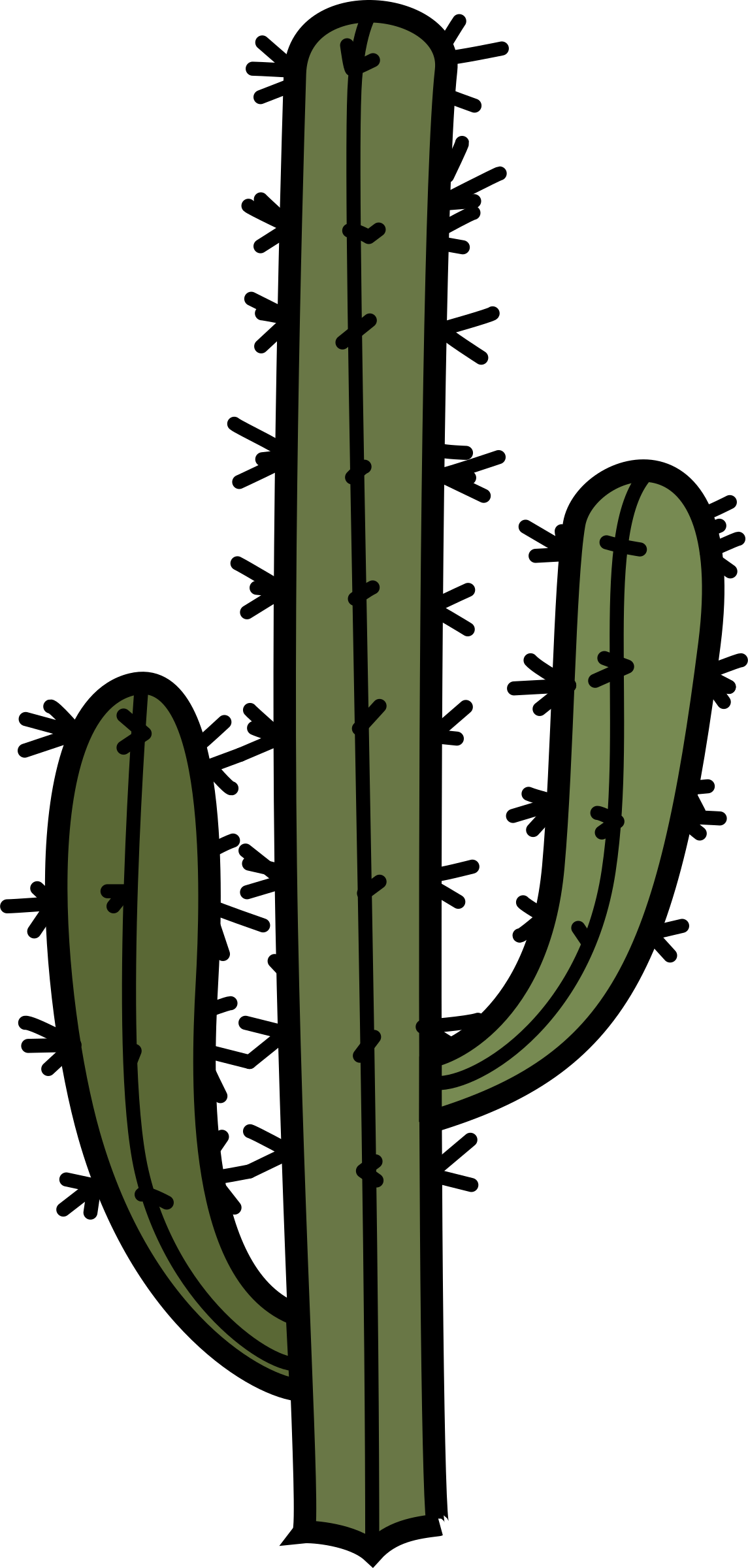 Cartoon cactus png. With arms icons free