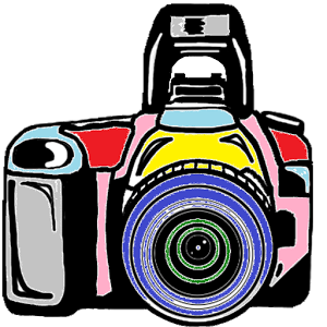 Lens drawing cartoon camera. Pictures image group android