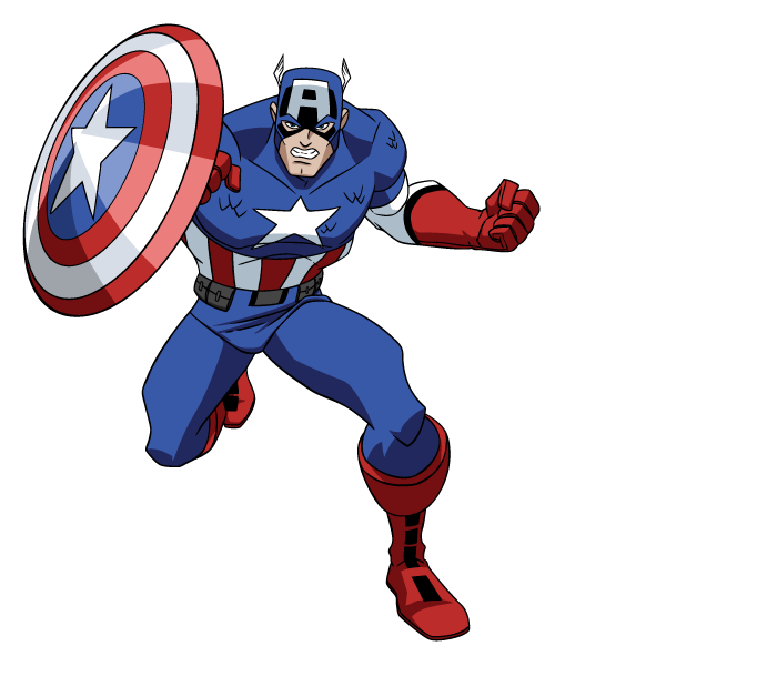 Cartoon captain america png. Image avengers earths mightiest