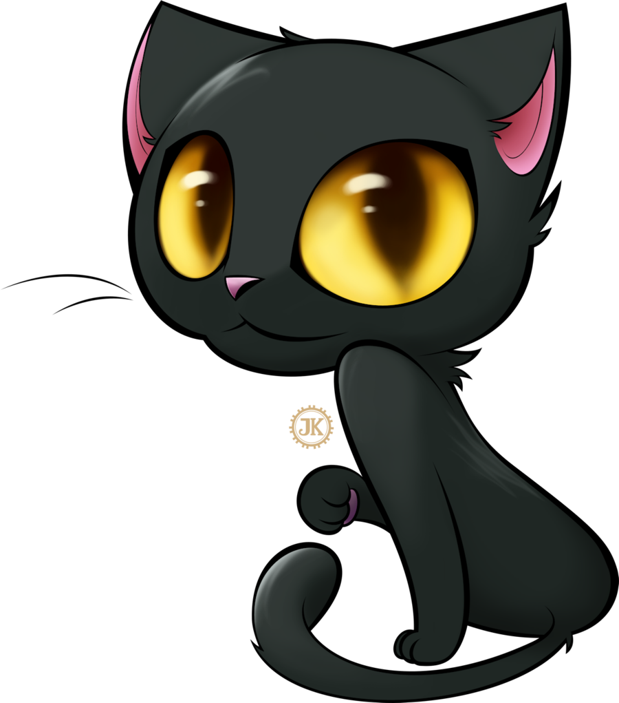 Cartoon cat png. Black cliparts co templates