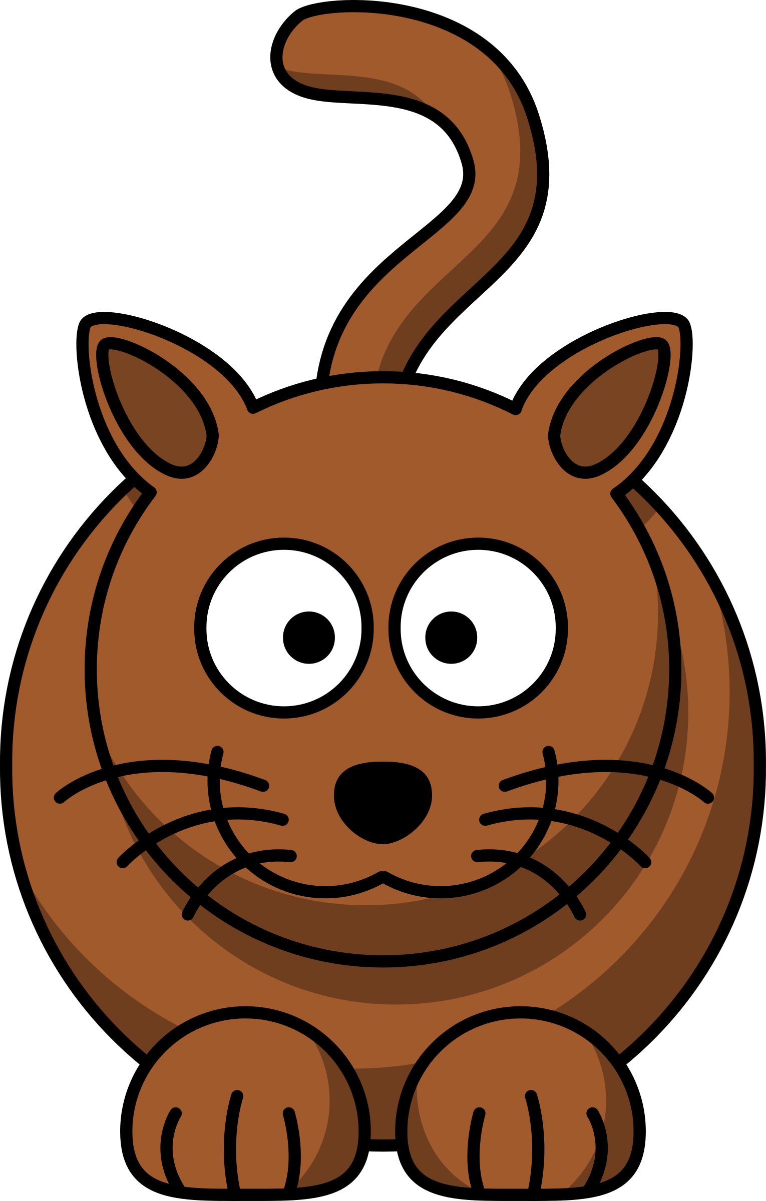 Cartoon cats png. Clipart cat big image