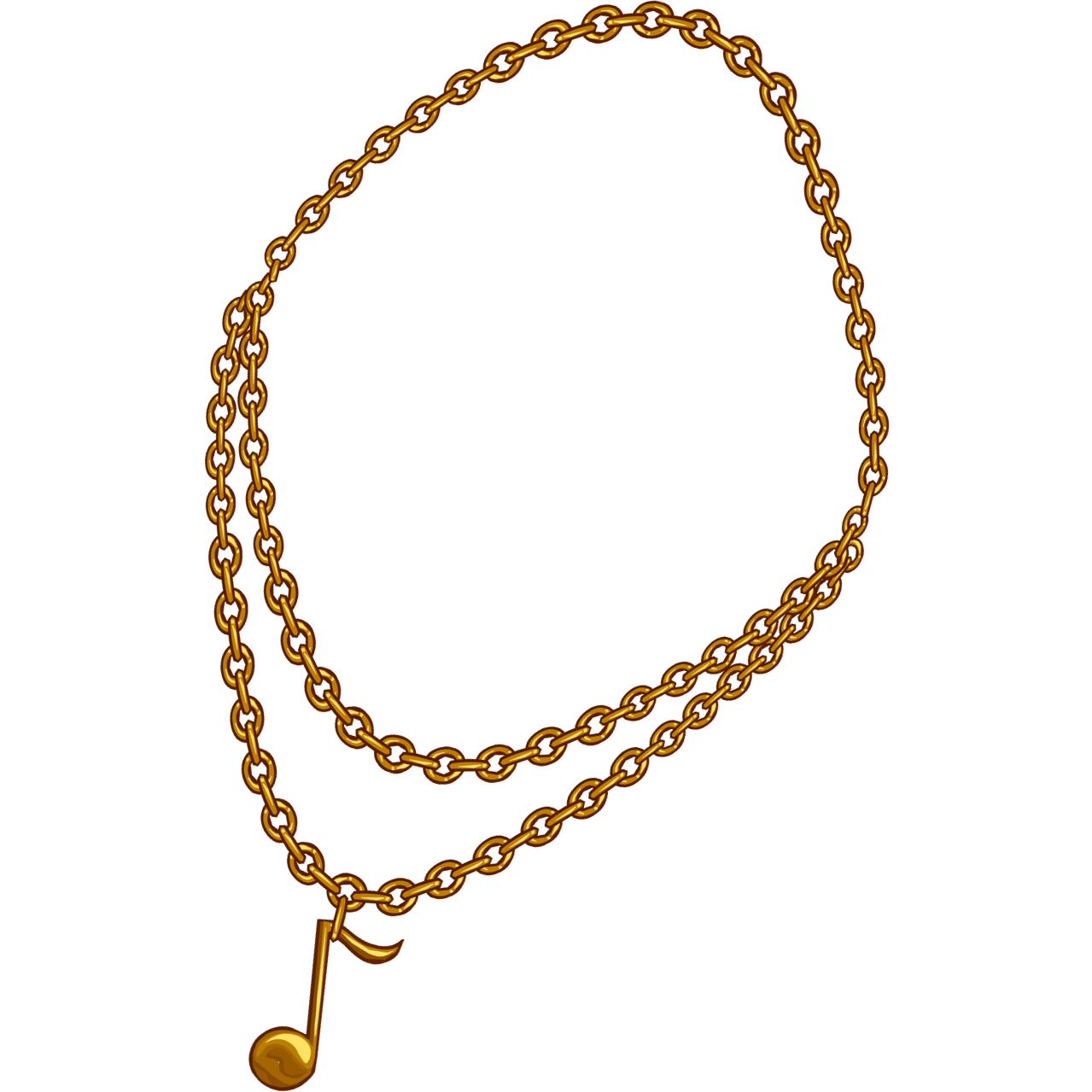 Cartoon chain necklace png. Transparent pictures free icons