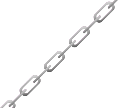 Cartoon chain png. Vector image group psd