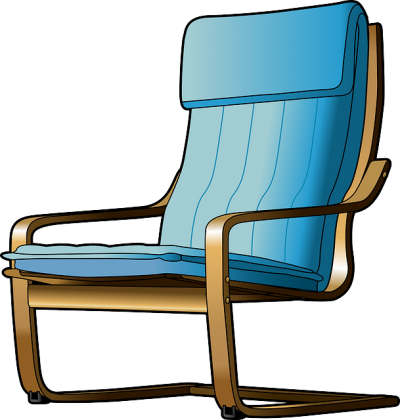 Chair clip cartoon. Download recliner free png