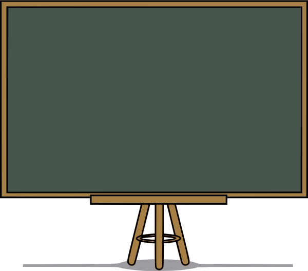 Cartoon chalkboard png. Chalk board clip art