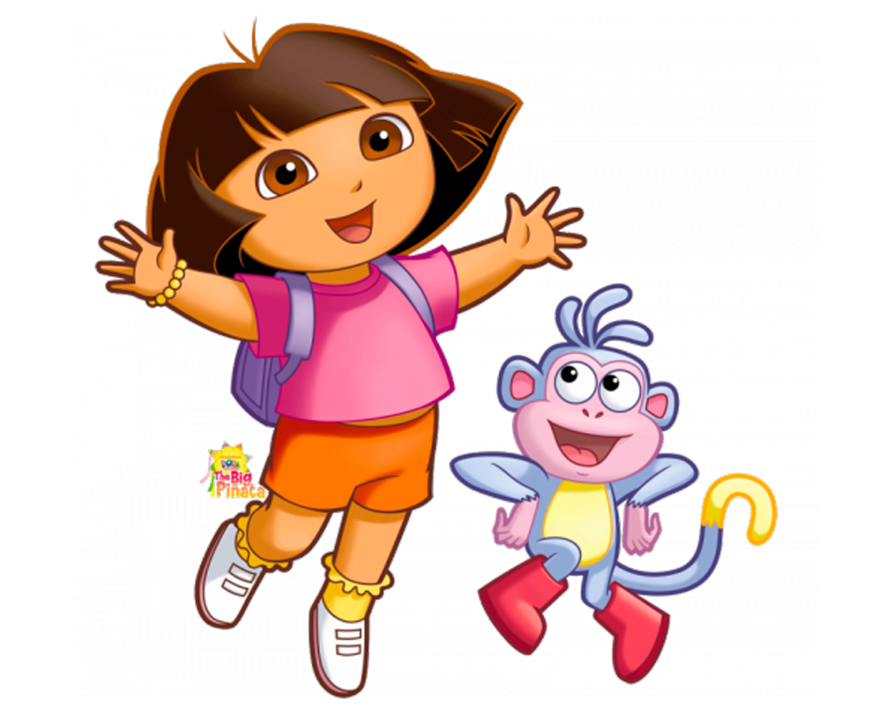 Cartoon characters png. Dora the explorer
