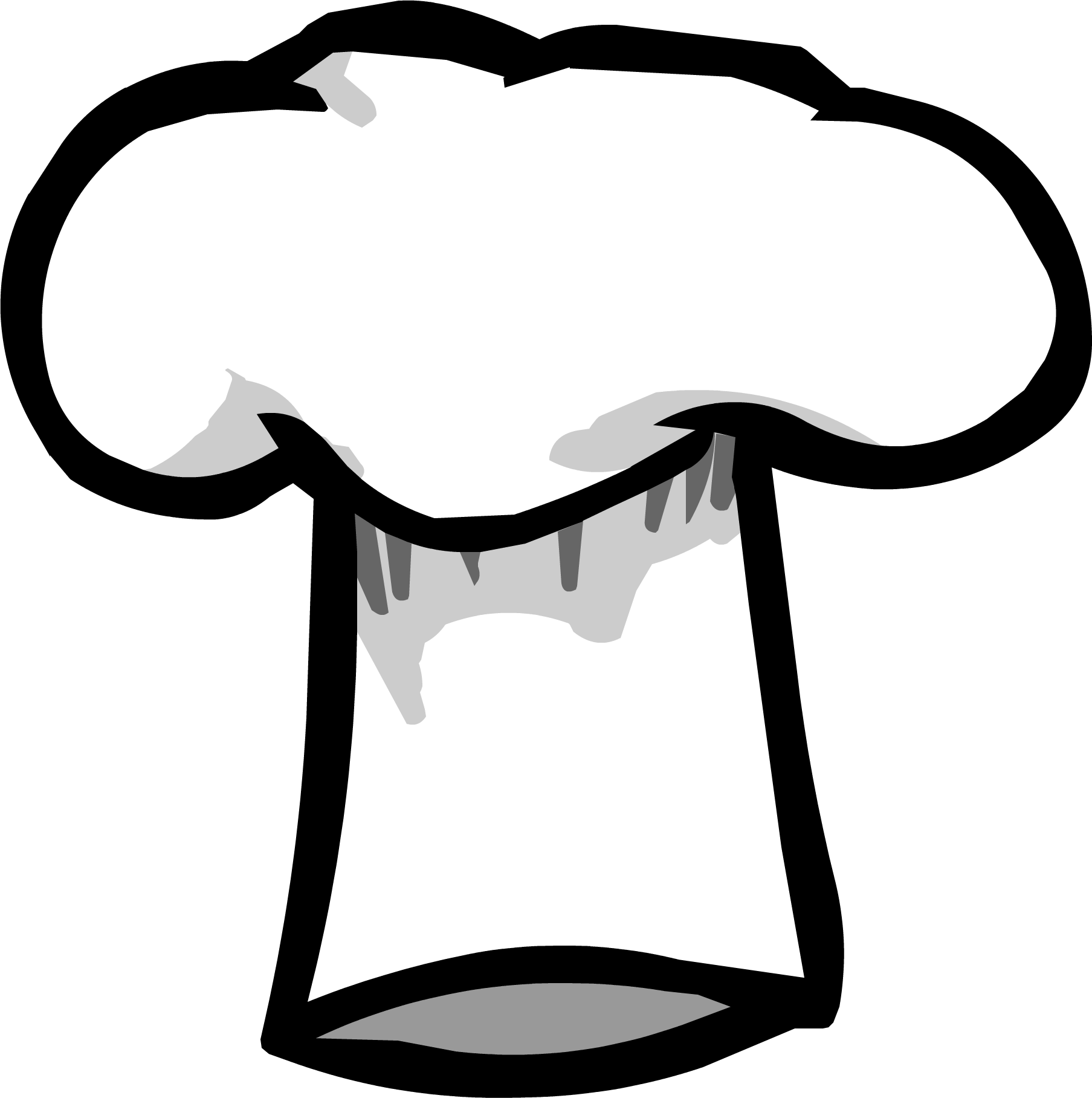Cartoon chef hat png. Club penguin wiki fandom