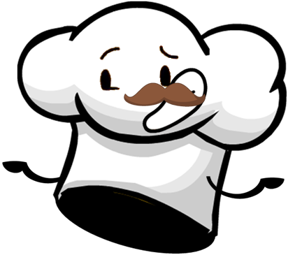 Cartoon chef hat png. Image battle for trillion
