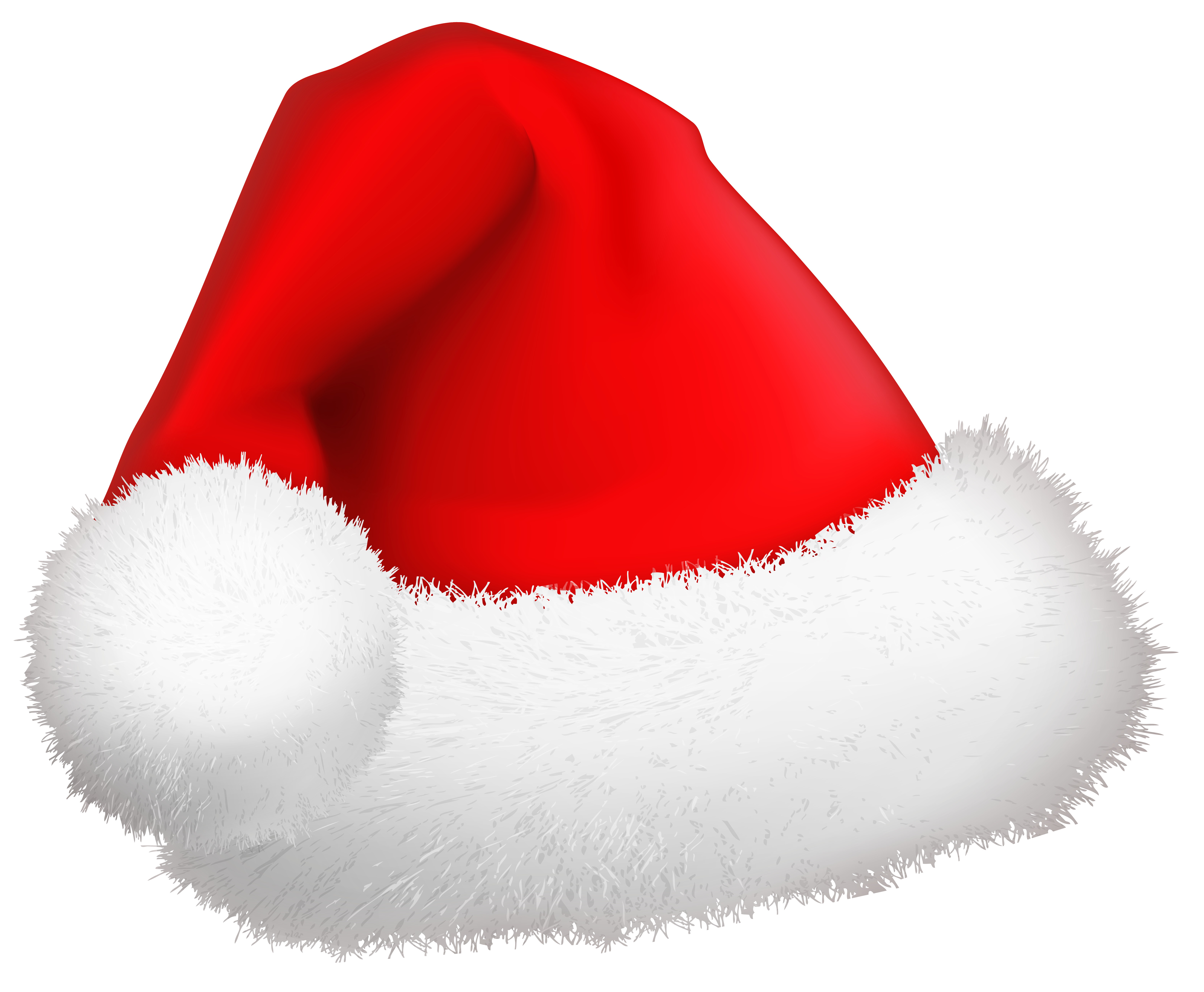 Cartoon christmas hat png. Santa clip art image