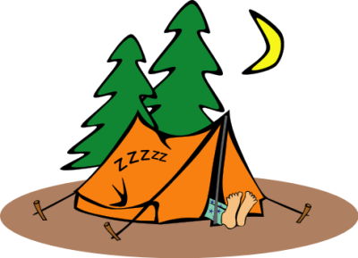Cartoon clipart camping. Pictures group panda free