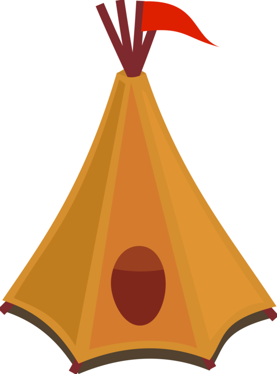 Cartoon clipart camping. Tipi tent drawing red