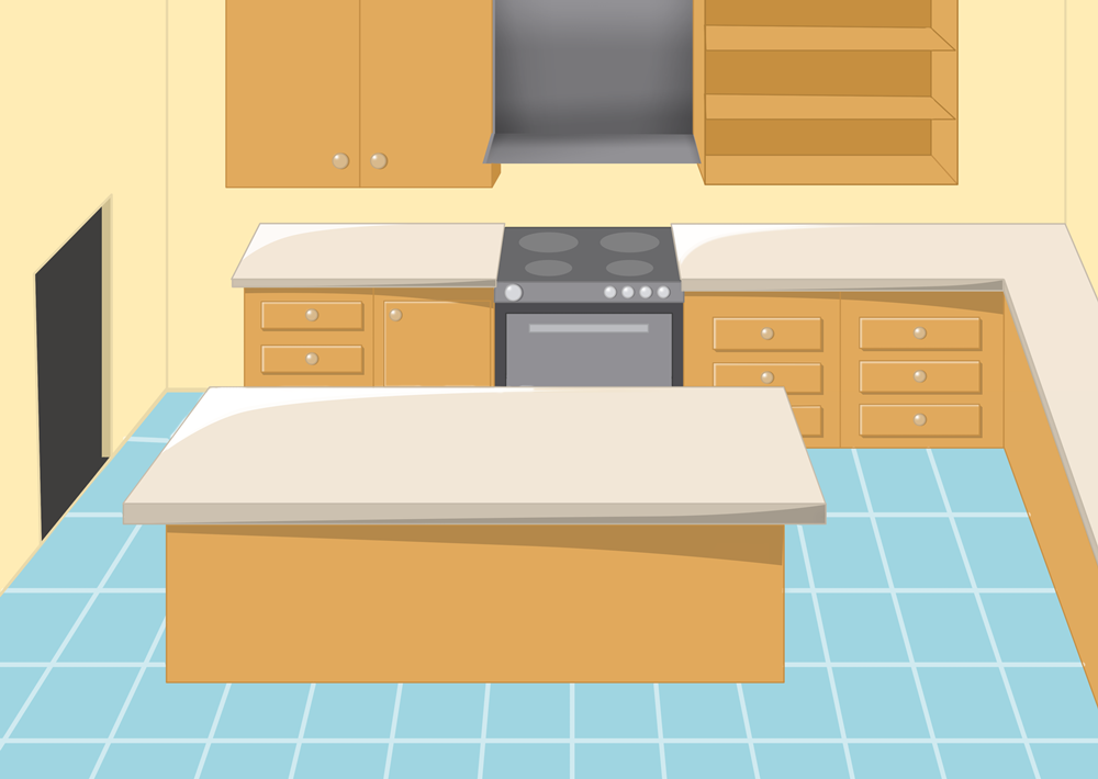Cartoon clipart kitchen. Kid clipartingcom animated