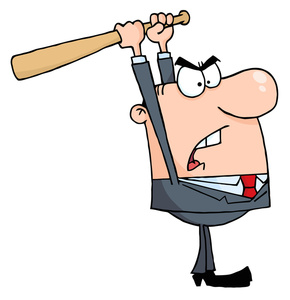 Cartoon clipart person. Angry image worker or