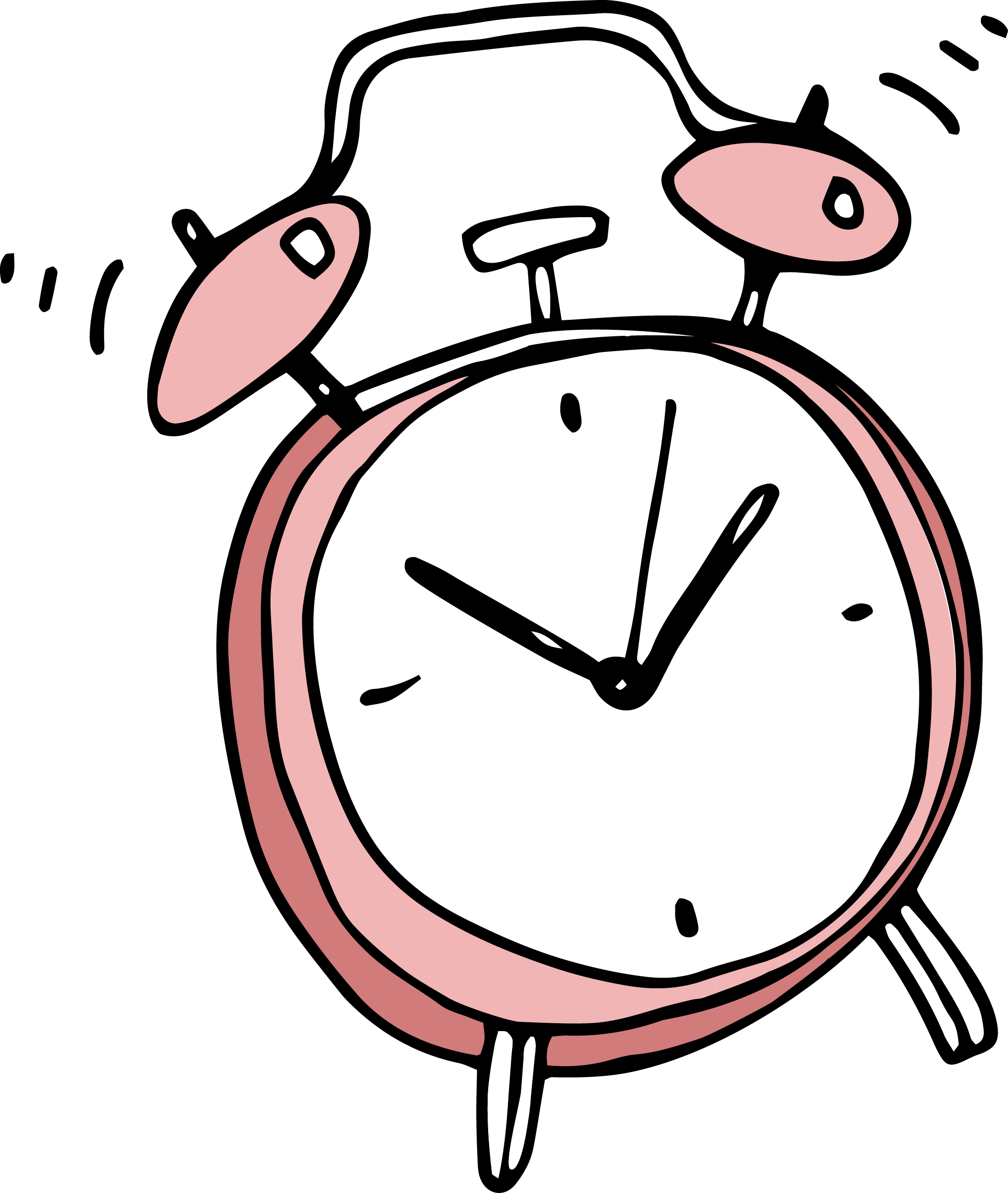 Cartoon clock png. Alarm clip art transprent