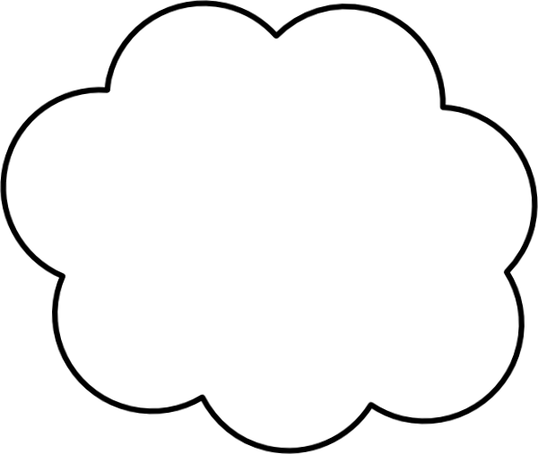 Cartoon cloud png. Clip art at clker