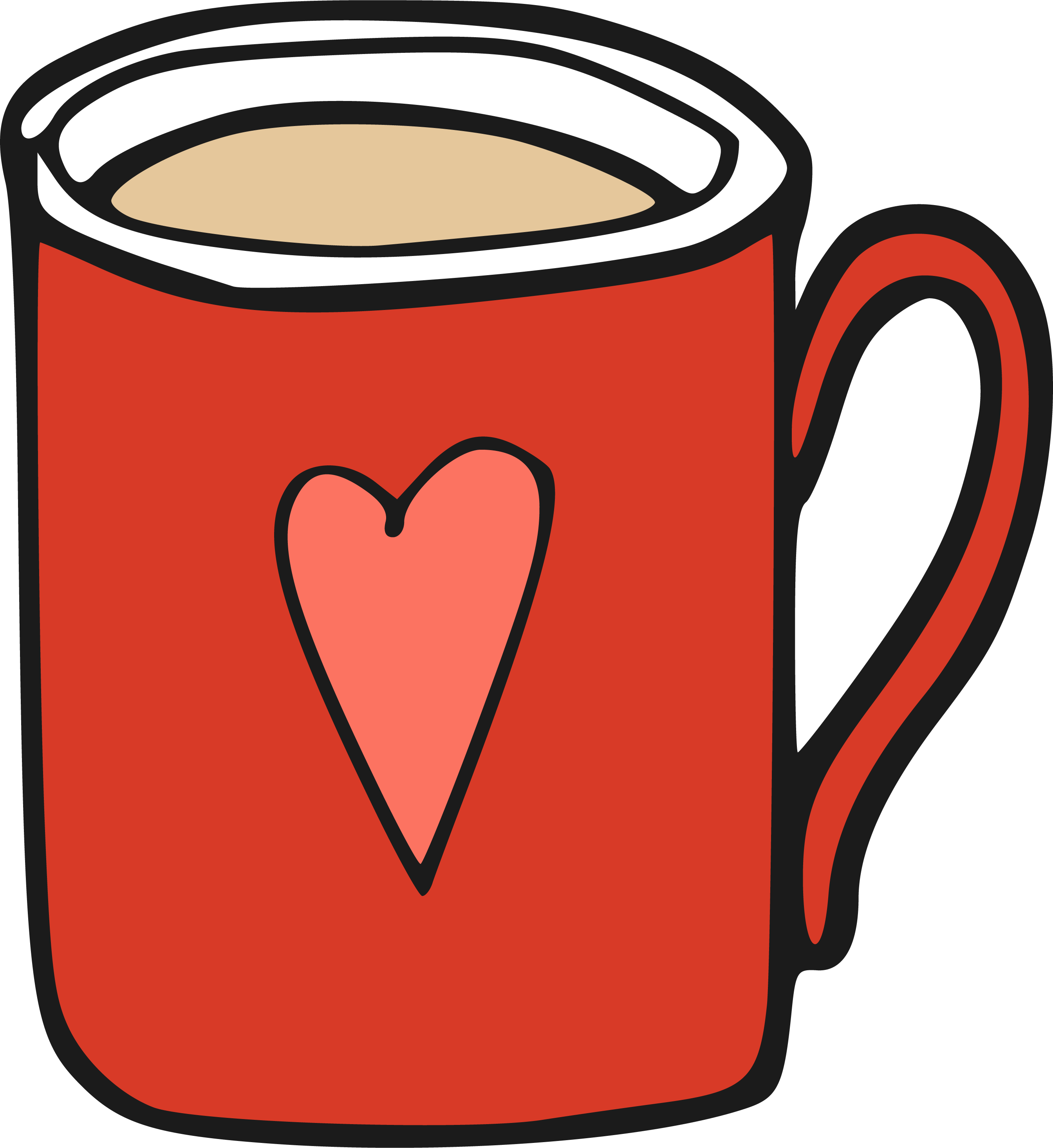 Cartoon coffee cup png. Mug clip art transprent