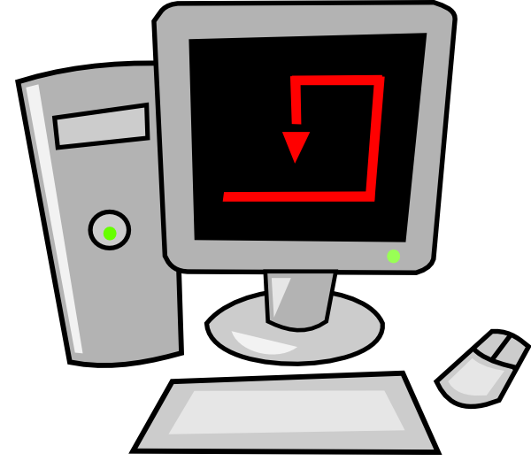 computer cartoon png