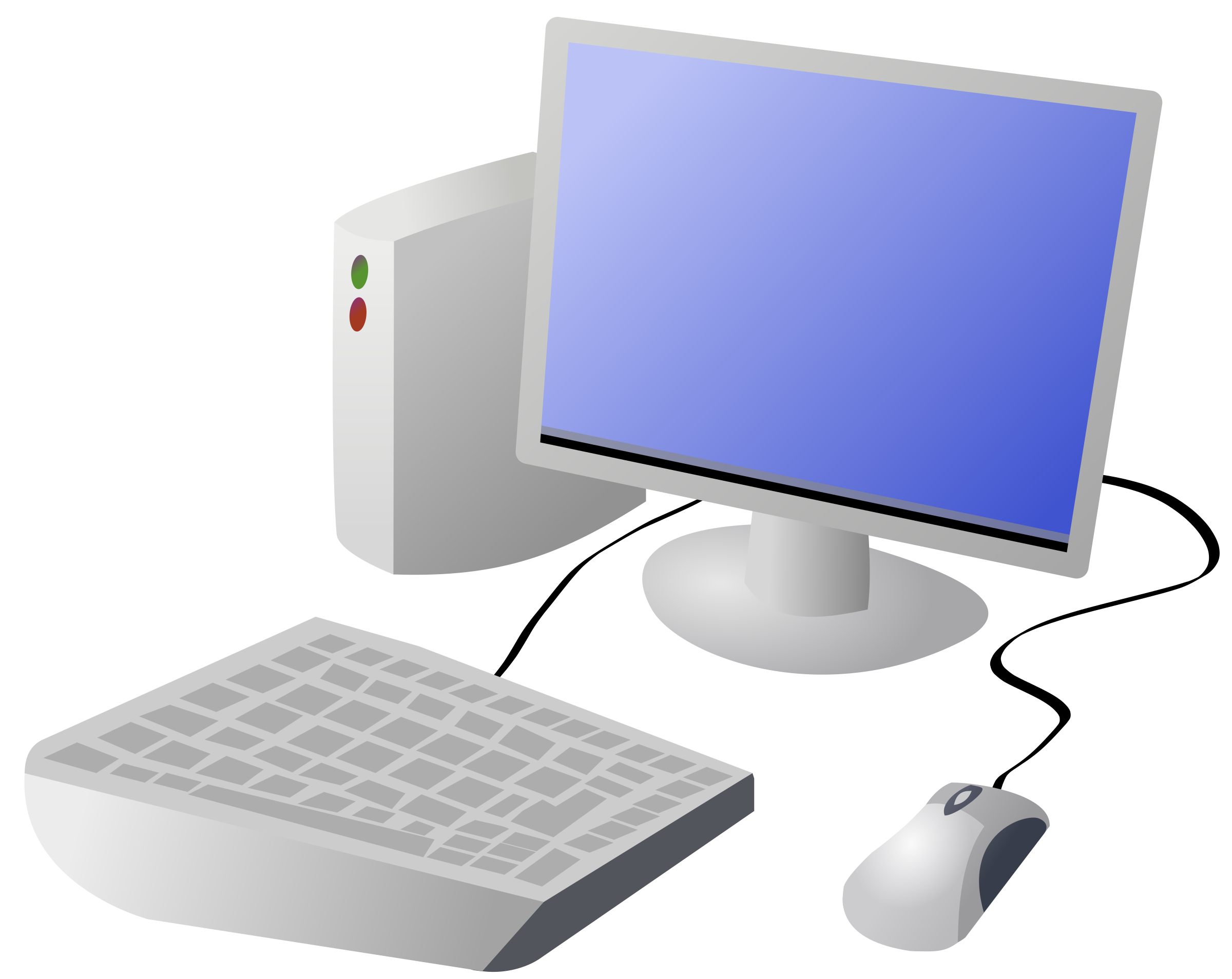 Cartoon computer png. And desktop icons free