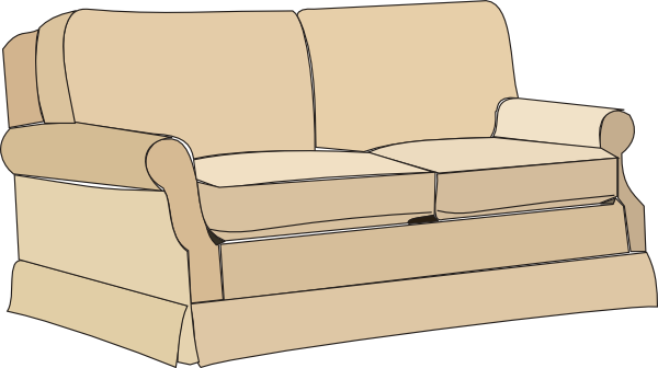 Cartoon couch png. Sofa clip art at