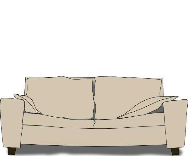 Cartoon couch png. Clip art at clker