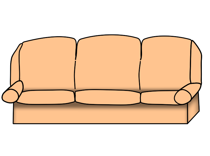 Cartoon couch png. Free transparent clipart anime