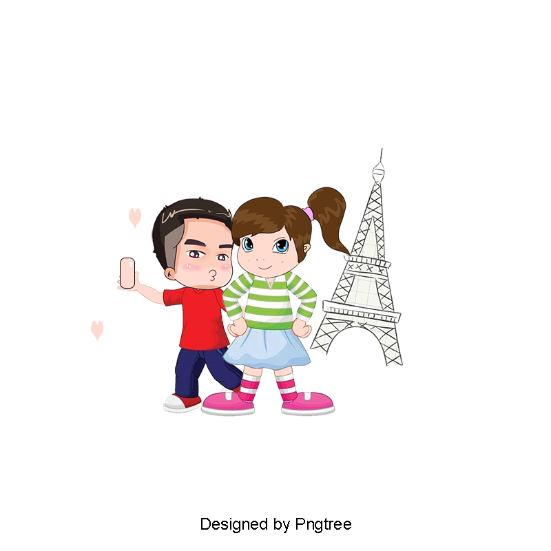 Cartoon couple png. Vector bulk lovers and
