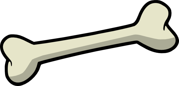 dog bone vector png