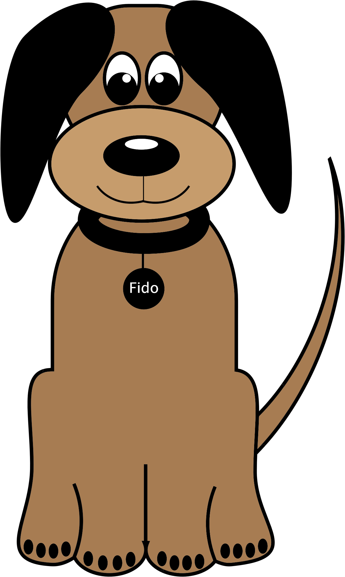 Cartoon dog png. Fido icons free and
