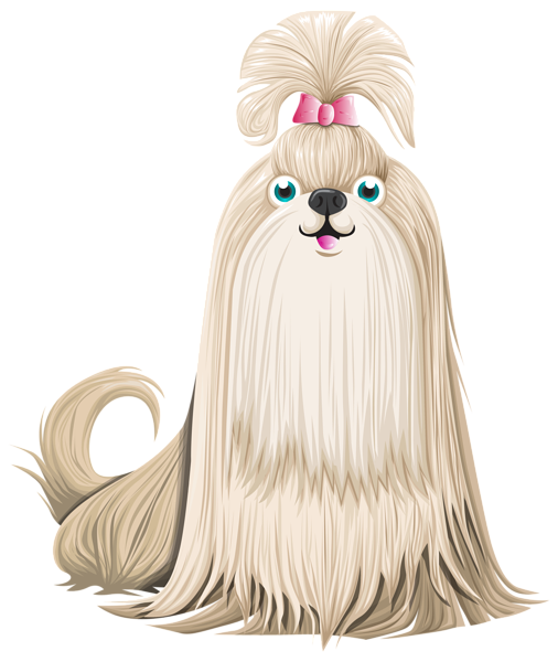 Cartoon dogs png. Cute dog clipart image