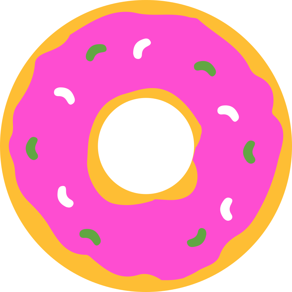 donuts vector background