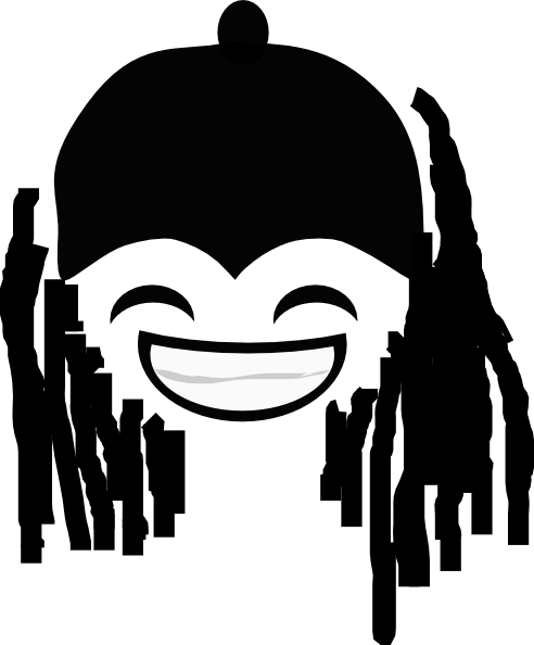 Cartoon dreads png. Dreadlocks clip art at