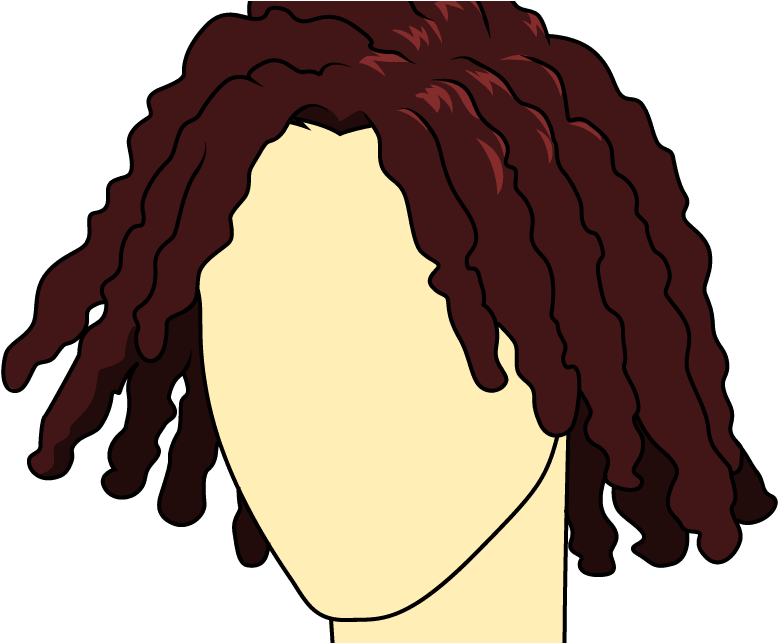 Cartoon dreads png. Download hd how to
