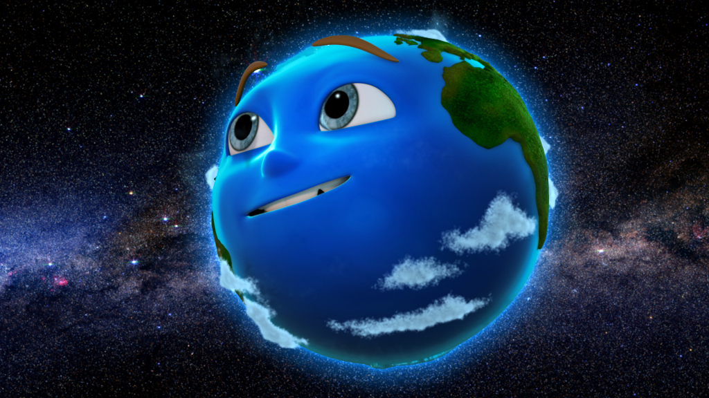 Cartoon earth. Could this save the