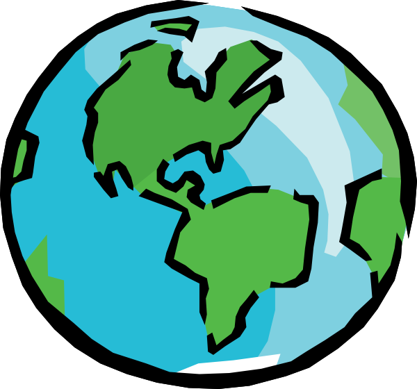 Cartoon earth png. Free download clip art