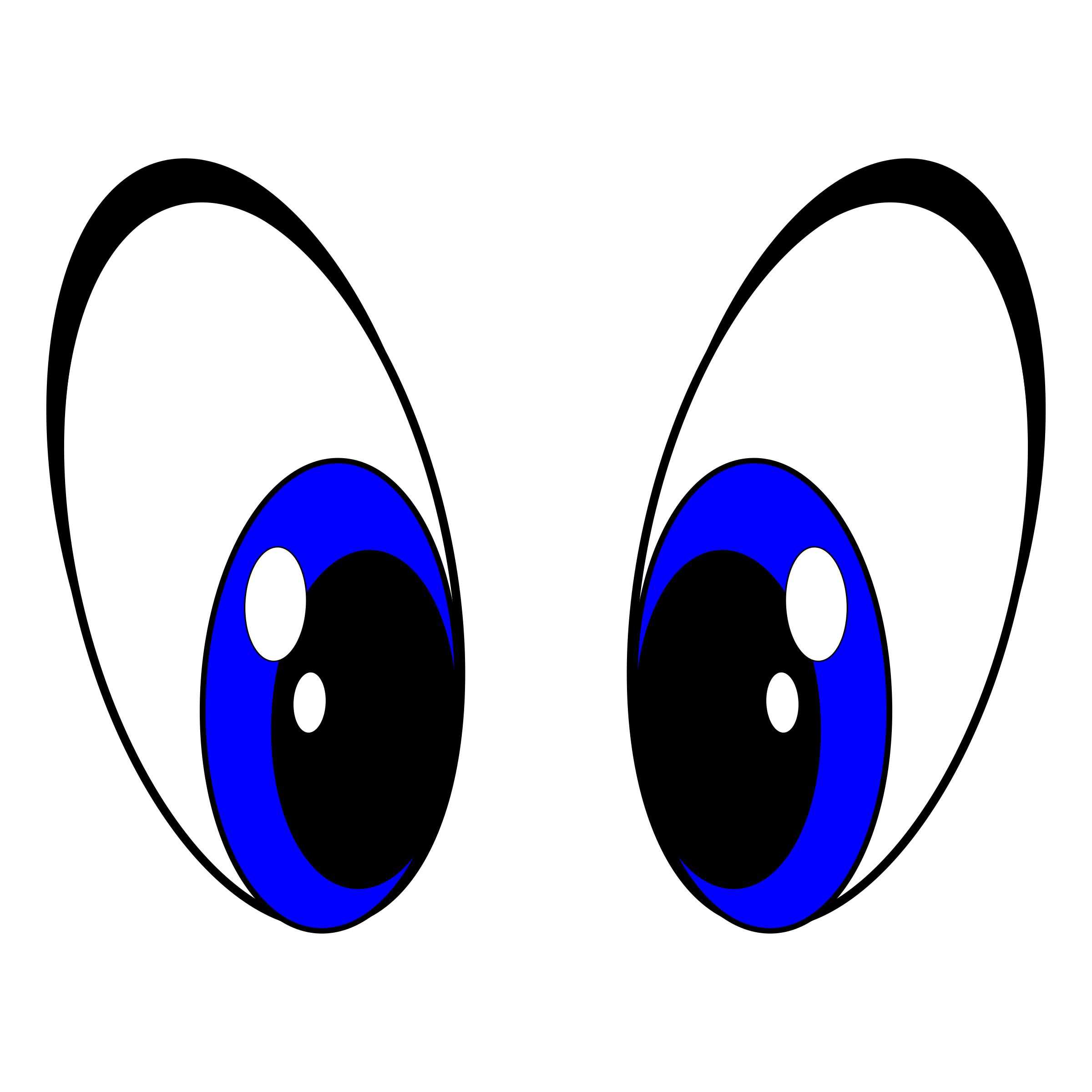 Cartoon eye png. Big eyes icons free