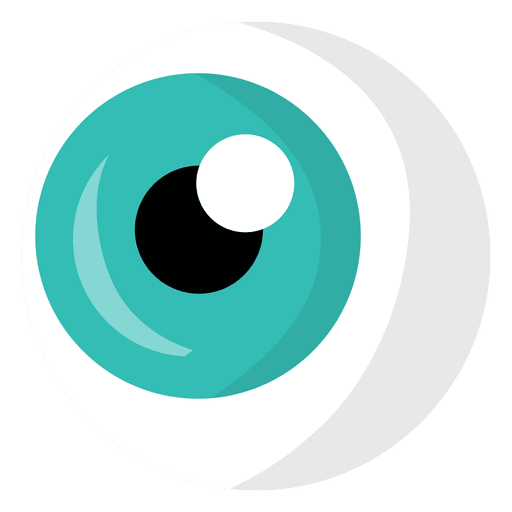 Cartoon eye png. Light blue transparent svg