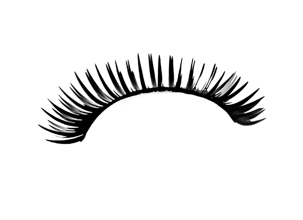 eye with lashes png