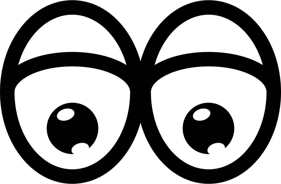 Cartoon eyes png. Tired svg icon free