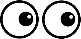 Cartoon eyes png. Clipart small image