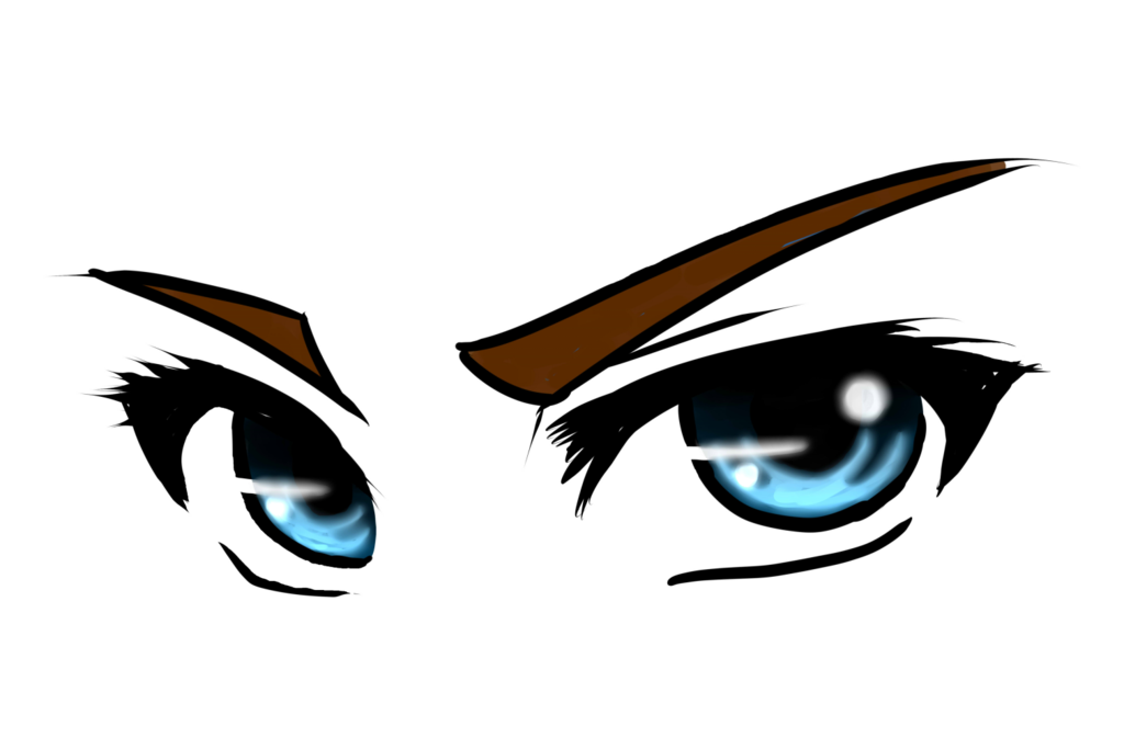 kawaii eye png